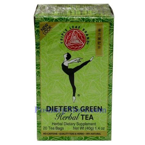 Triple Leaf Brand Dieter's Green Herbal Tea 20 Teabags