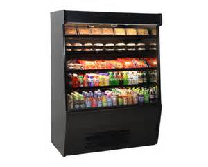 Free Standing Refrigerator by Grab And Go Food Display Cases Food Service Structural