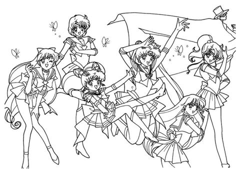 104 Best Sailor Moon Coloring Pages Images On Pinterest