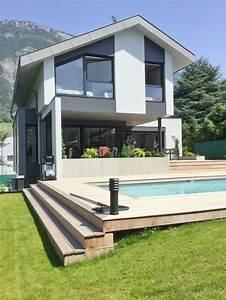 Maison En Savoie   Une Structure Contemporaine Ouverte Sur La Nature
