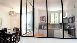 separation de cuisine mur de separation cuisine salle a With meuble salon noir et blanc 12 cuisine leicht et lineaquattro