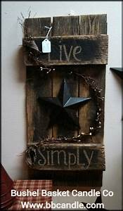 25 best ideas about primitive wood crafts on pinterest With country wood craft ideas