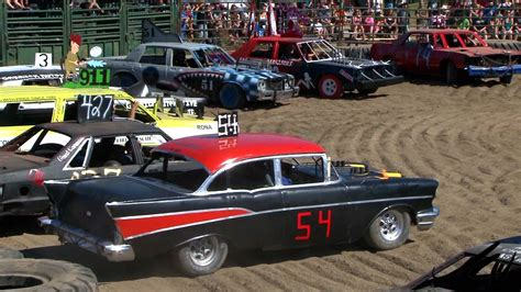 Enjoy Racing And Destroying Cars In Demolition Derby