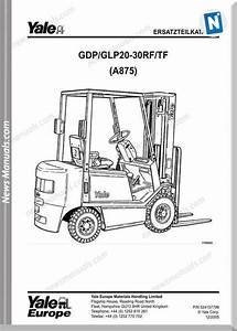 Yale Forklift A875 12 2005 Y