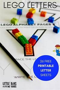 lego letter activity and free printable letter sheets With preschool letter games