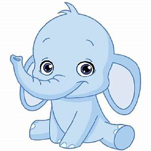pink baby elephant cartoon MEMES
