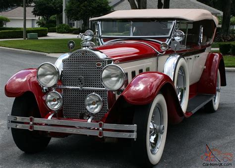 Former Aaca National First Place 1929 Packard 645 Dual