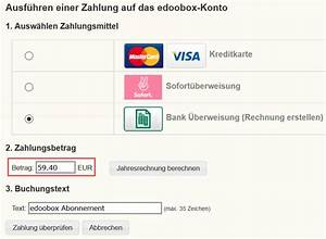 Paypal Rechnung Erstellen : edoobox abonnement rechnung selber erstellen ~ Orissabook.com Haus und Dekorationen