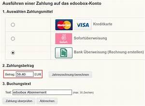Paypal Rechnung Erstellen : edoobox abonnement rechnung selber erstellen ~ Themetempest.com Abrechnung
