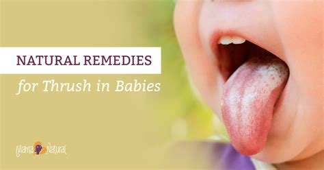 Thrush In Babies Natural Remedies That Work Mama Natural
