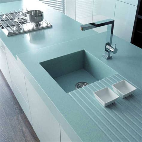 solid surface kitchen sinks low maintenance manmade countertops cullen construction