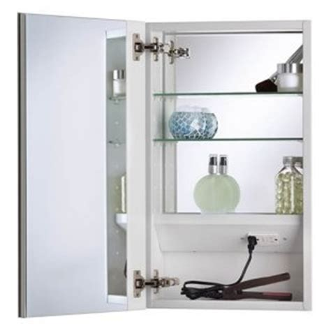 medicine cabinet with outlet pin by shelby labadie on bathroom idealand pinterest