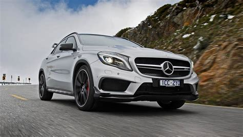 This affects some functions such as contacting salespeople, logging in or managing your vehicles for sale. 2014 Mercedes-Benz GLA 45 AMG review | CarsGuide