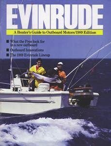1989 Wellcraft Boat Brochure by Evinrude 1989 Outboard Brochure Sailinfo I Boatbrochure