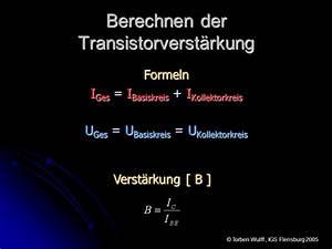 Transistor Berechnen : grundlagen zur analogen schaltungstechnik ppt video online herunterladen ~ Themetempest.com Abrechnung