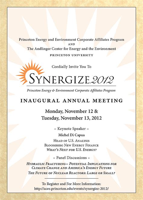 energy environment corporate affiliates synergize