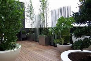 jardin 30m2 amenagement recherche google jardin With amenager une terrasse exterieure 13 brise vue balcon decoration exterieure de votre terrasse