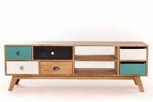 Deco Meuble Design : meuble tv scandinave design bricolage maison et d coration ~ Teatrodelosmanantiales.com Idées de Décoration