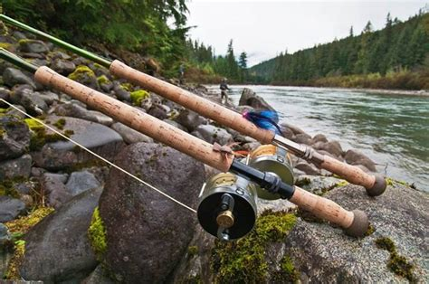 fly fishing rods drowning worms