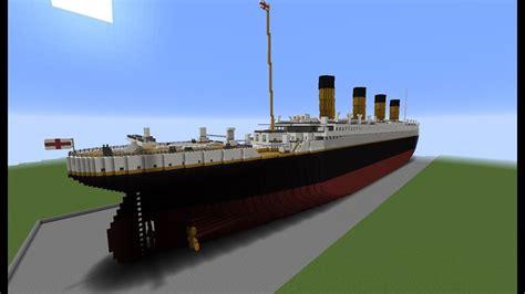Minecraft Boat Titanic by Minecraft Rms Titanic