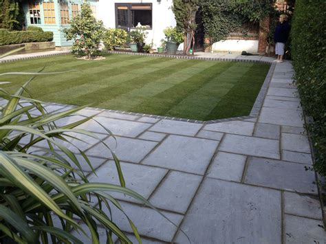 landscaping slabs garden landscapers havering essex ach landscapes