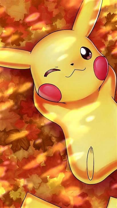 Pikachu 3d Wallpapers Autumn
