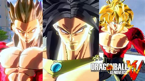 pc dragon ball xenoverse mods ssj broly ssj