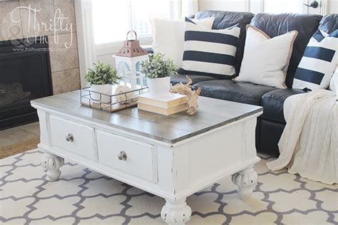 farm style coffee table thrifty and chic diy projects and home decor
