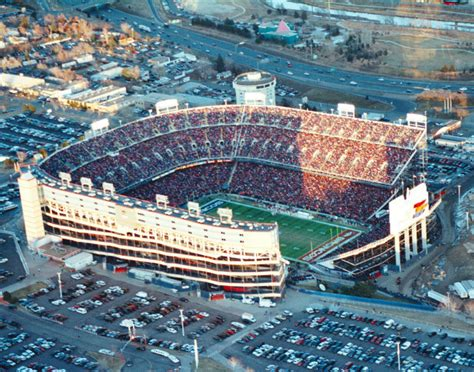 Broncos stadium at mile high is the new name of what was mostly recently called sports authority field at mile high and what most fans still prefer to call mile high stadium. Real Denver Sports: Mile High Stadium, there was only One