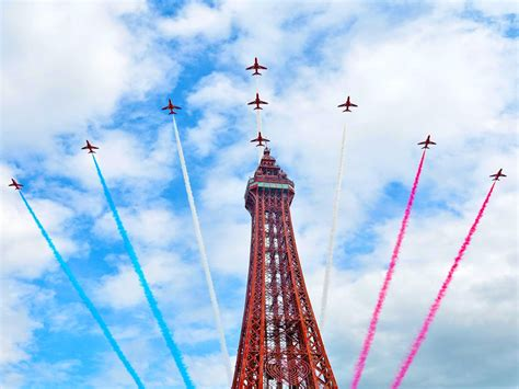 blackpool air show  roaring success latest news
