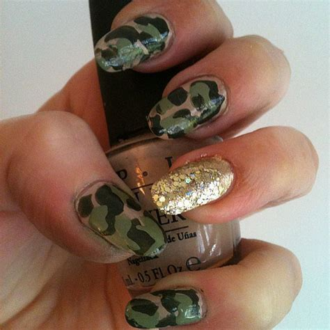 awesome green nail art designs