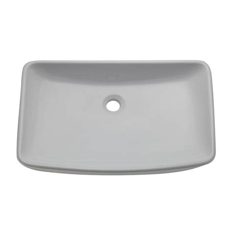 Decolav White Vessel Sinks by Decolav Classically Redefined Vessel Sink In White 1445