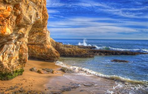 Wallpaper Photos Of by Nature Landscape Sea Coast Rock Cliff Waves