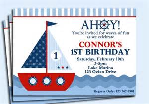 baby shower anchor theme sailboat or nautical invitation printable sail away for