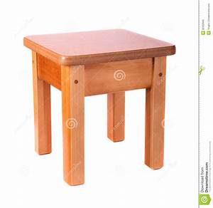 Small Wooden Stool Royalty Free Stock Image - Image: 32402666