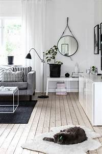 48, Black, And, White, Living, Room, Ideas