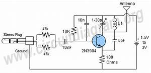 simplest long range rf transmitter circuit circuit With 15w transmitter fm