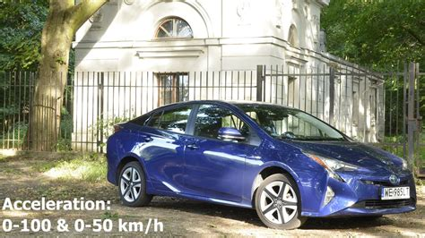 Toyota Acceleration by Toyota Prius 2016 Acceleration 0 100 Km H 0 50 Km H