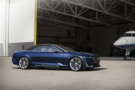 cadillac escala convertible rendered gm authority