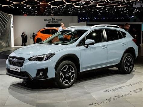 subaru xv crosstrek hybrid review youtube