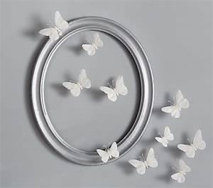 White feather butterflies set pottery barn kids