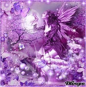 Purple Fairy Picture #131756194   Blingee.com