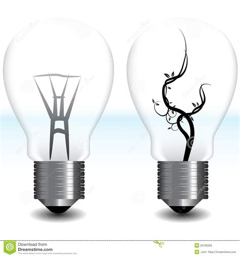 green energy light bulb royalty free stock photo image