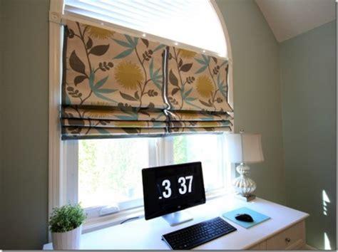 window treatment  sew roman shades diy