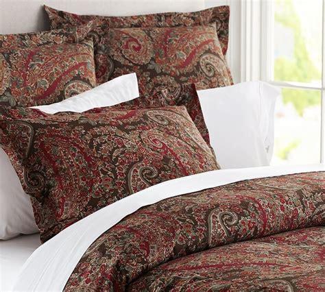 carrie paisley duvet cover sham traditional duvet