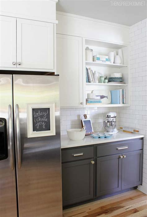 shades  neutral gray white kitchens choosing cabinet colors  inspired room
