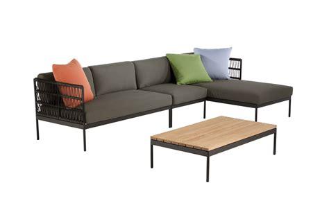 design gartenmöbel outlet niehoff azuri lounge sofa 2 sitzer armlehne links design
