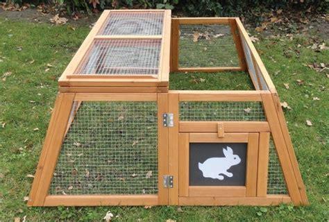 enclos pour lapin et cochon d inde pliable trapeze animaloo