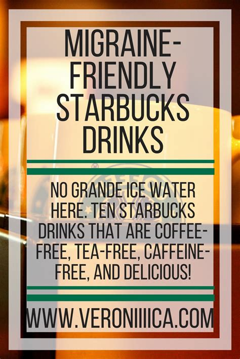 I believe that living a healthy lifestyle means making sacrifices but doesn't have to mean suffering. 10 Starbucks Drinks Without Coffee, Tea Leaves, or Caffeine