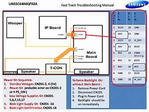 Samsung Un55c6400rfxza Fast Track Guide Service Manual